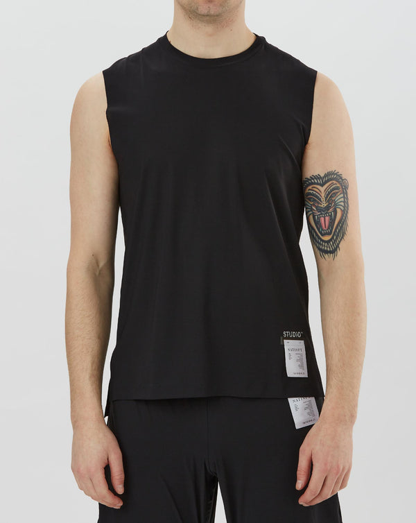 Satisfy Studio Muscle Tee (Black)