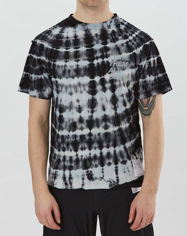 Satisfy Reverse T-Shirt (Blue Black Tie Dye)