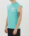 Satisfy Cult Moth Eaten Muscle Tee (Turquoise)
