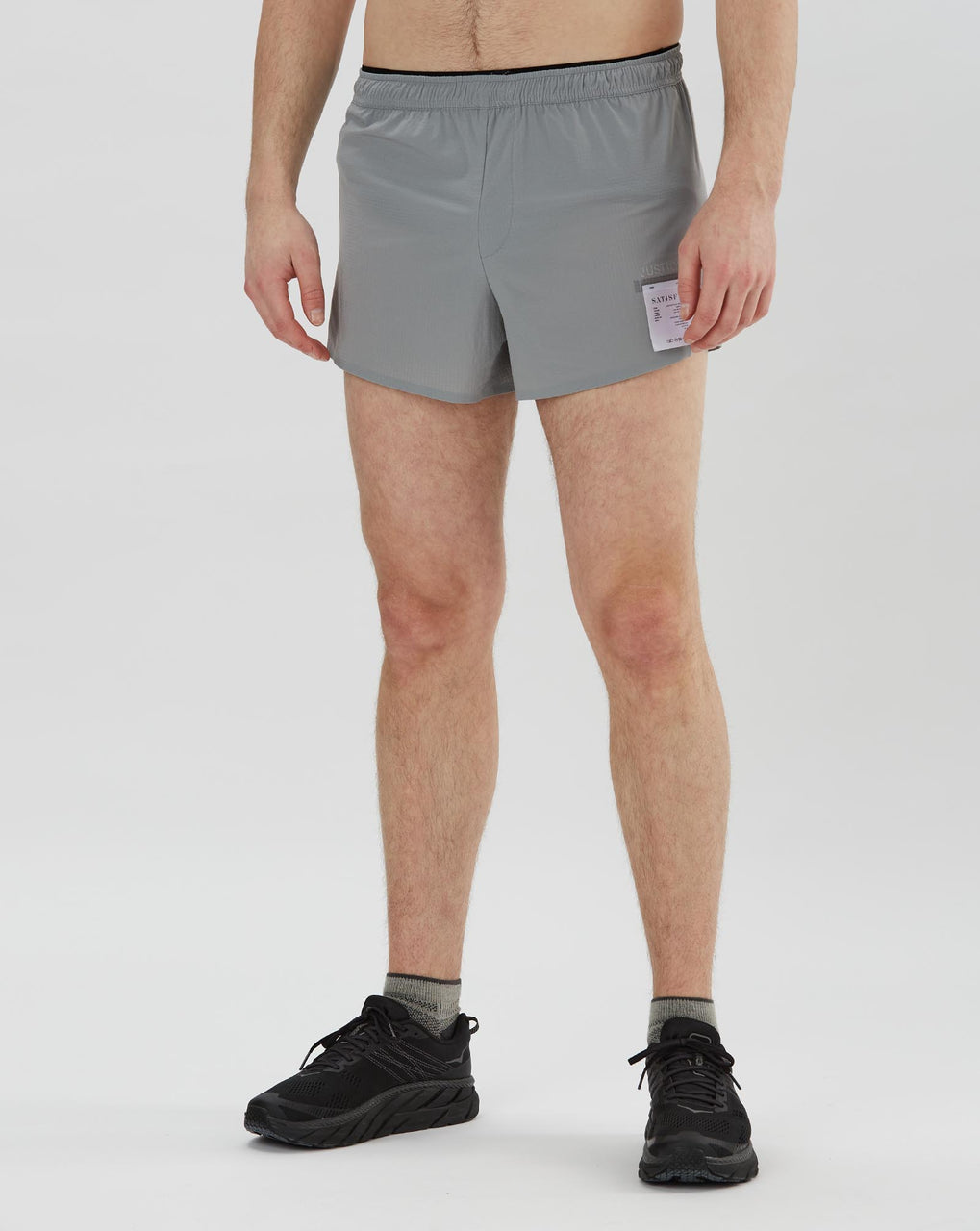 "Satisfy Justice Short Distance 2.5"" Shorts (Air-Frost)"