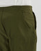 Goldwin One Tuck Tapered Stretch Trousers (Olive Green)