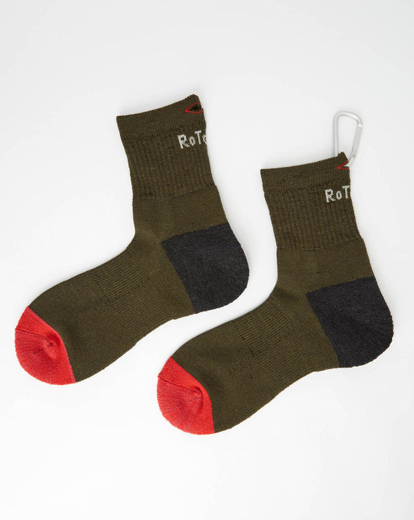 RoToTo Trail Magic (Oive/ Charcoal/ Red)
