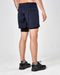 "Satisfy Trail Long Distance 10"" Shorts (Navy Silk Splattered)"