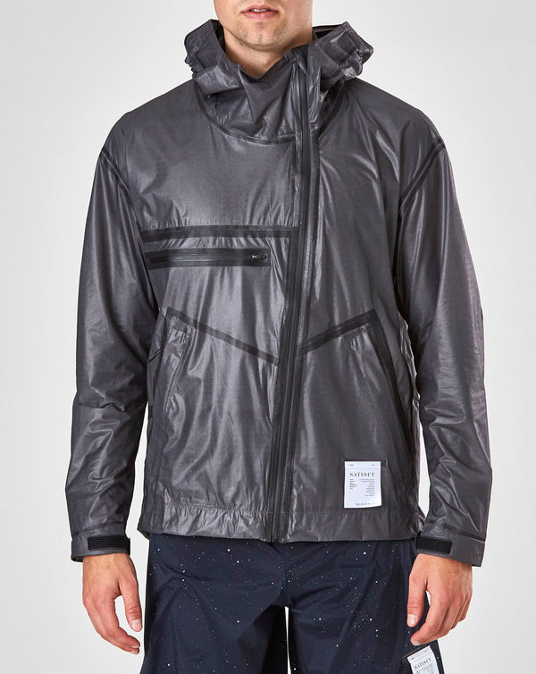 Satisfy 3-Layer Running Jacket (Translucent Black)