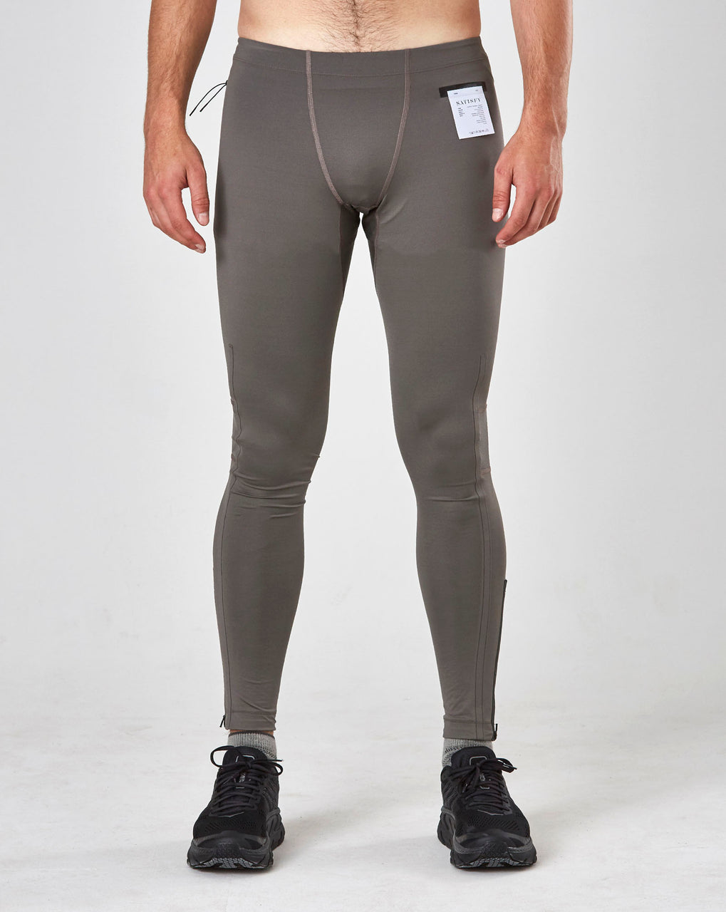 Satisfy Coffee Thermal Running Tights (Bronze)