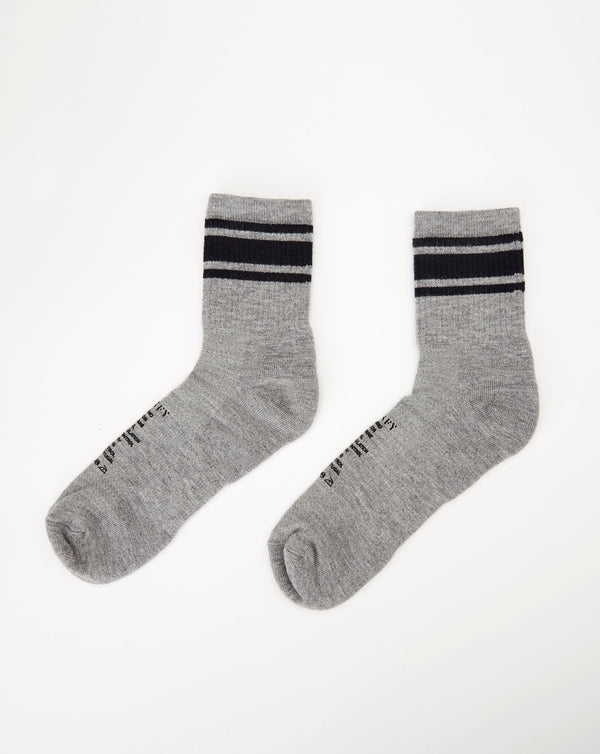 Satisfy Merino Tube Socks (Heather Grey)