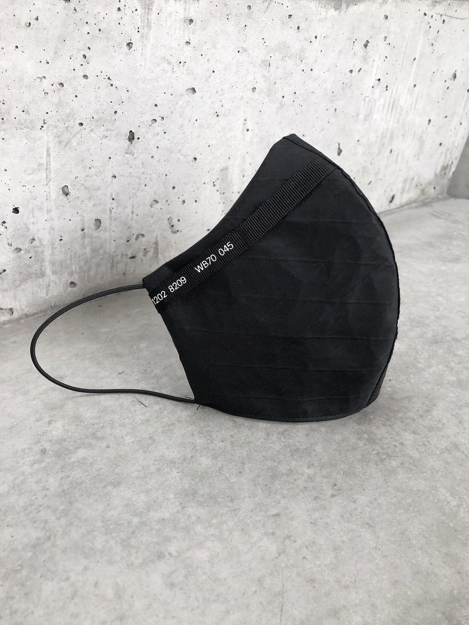 Segment Face Mask (Black)