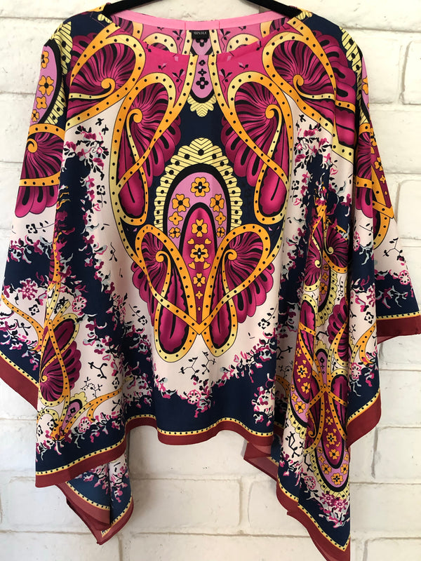 Medallion Silk Tunic