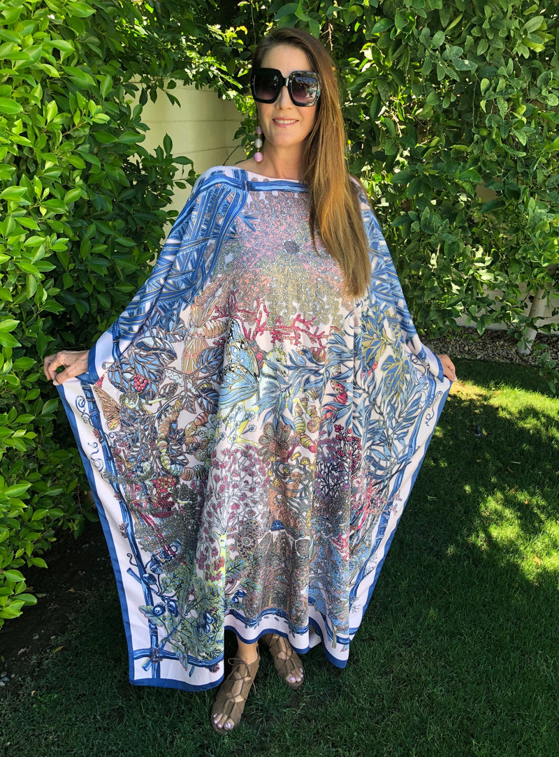 Fairytale Mystique Long Silk Caftan