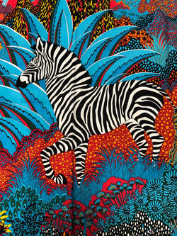 """Mountain Zebra"" Orange or Blue"