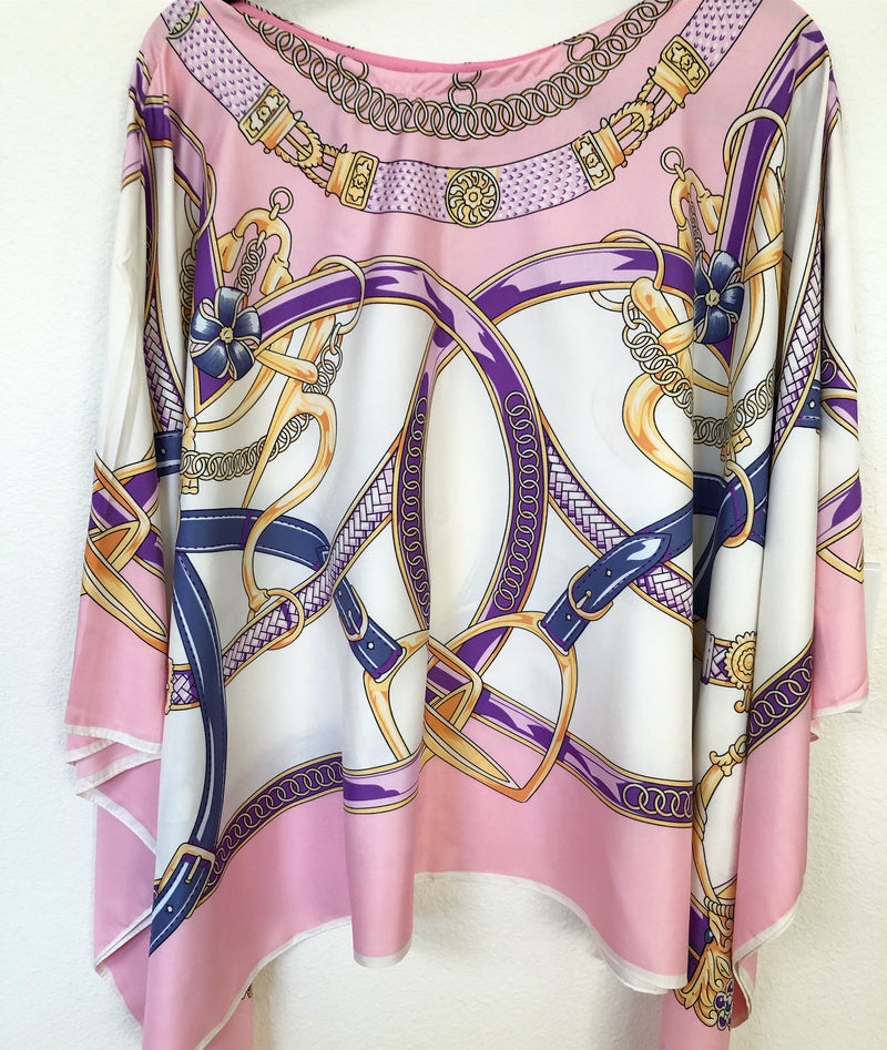 """Antoinette"" Silk Tunic *May 10 Delivery 💕"
