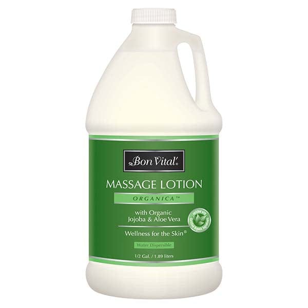 Bon Vital Organica Massage Lotion 1/2 Gallon
