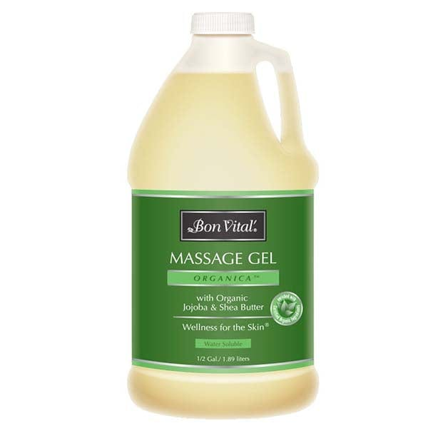 Bon Vital Organica Massage Gel 1/2 Gallon