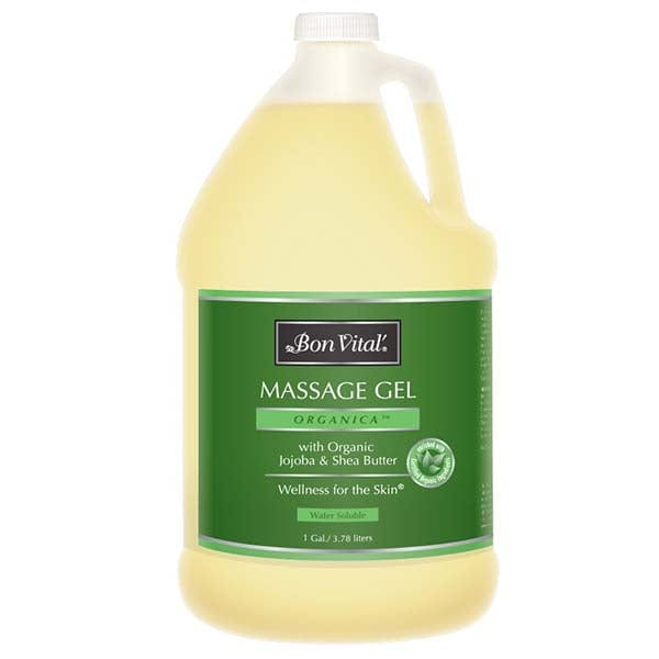 Bon Vital Organica Massage Gel 1 Gallon