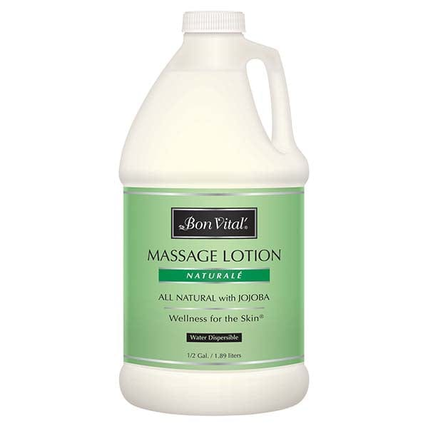 Bon Vital Naturalé Massage Lotion 1/2 Gallon