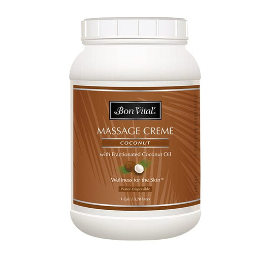 Bon Vital Coconut Massage Creme 1 Gallon