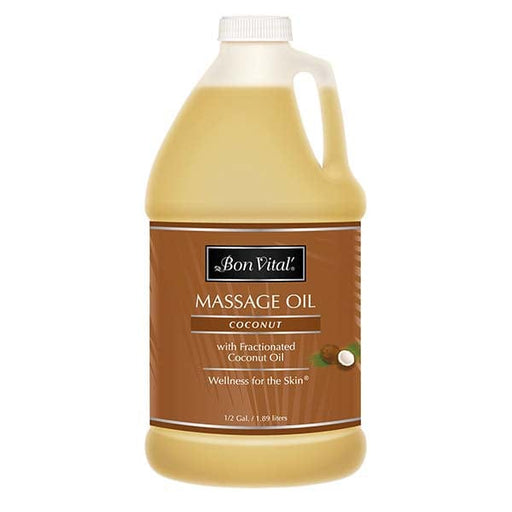 Bon Vital Coconut Massage Oil 1/2 Gallon