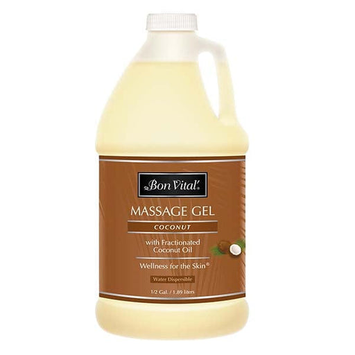 Bon Vital Coconut Massage Gel 1/2 Gallon