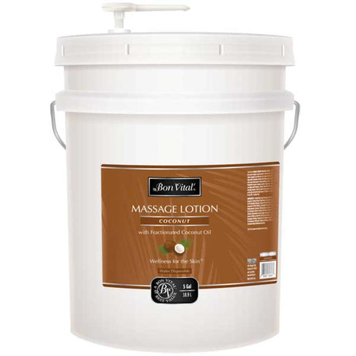 Bon Vital Coconut Massage Gel 5 Gallon