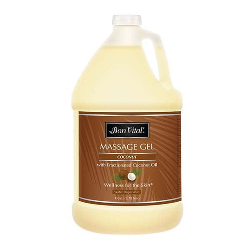 Bon Vital Coconut Massage Gel 1 Gallon
