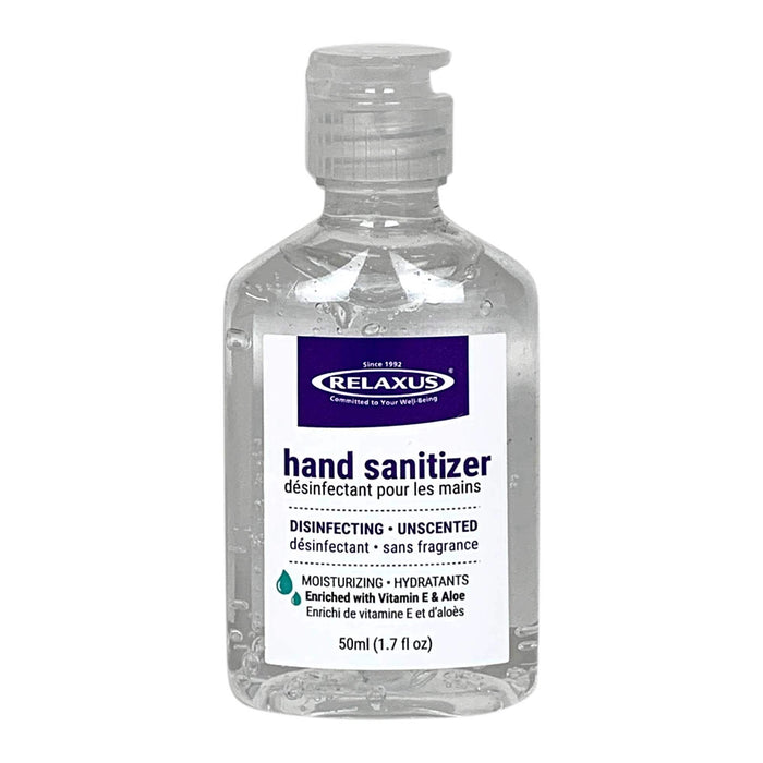 Moisturizing Ethanol 75% Hand Sanitizer 24 x 50 ml (1.7 fl oz.) Bottles