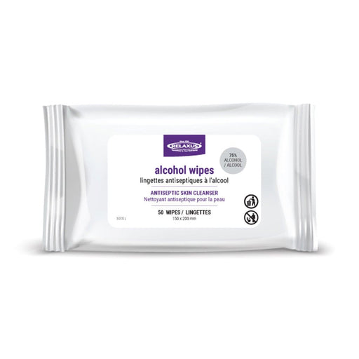 Alcohol Wipes (50-Pack)