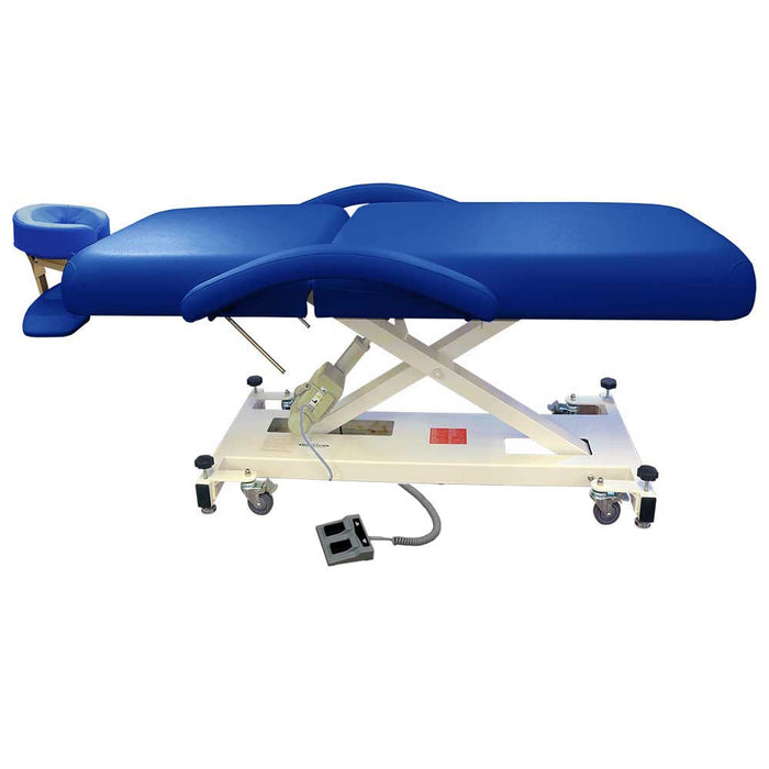 Apollo Royal Blue Tilt Electric Massage Table