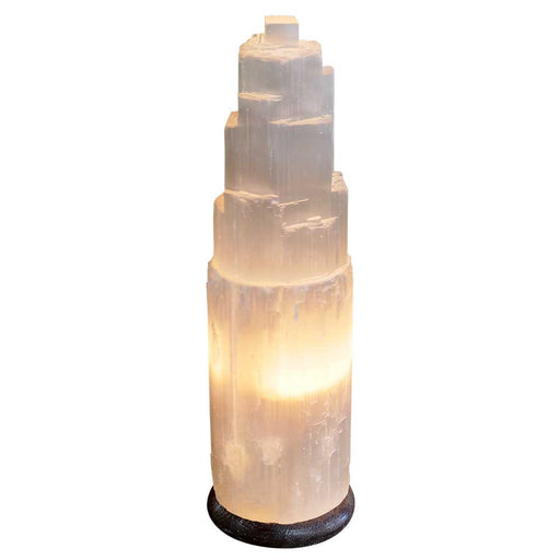 Selenite Crystal Lamp 28-32cm