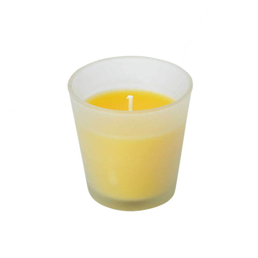 Peppermint Citronella Infused Candle In a Glass Prepack of 12