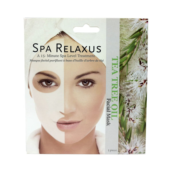 Tea Tree Face Mask Spa Relaxus