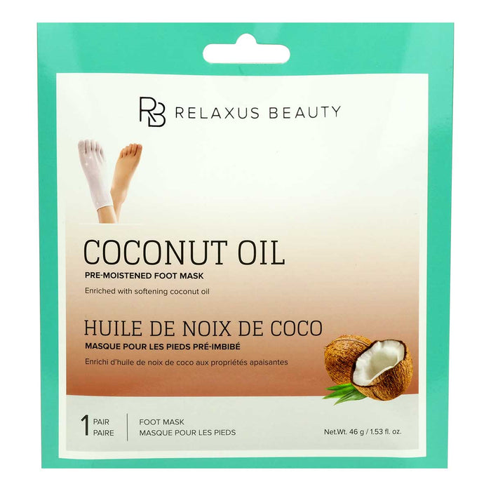 Coconut Oil Foot Masks Displayer of 12