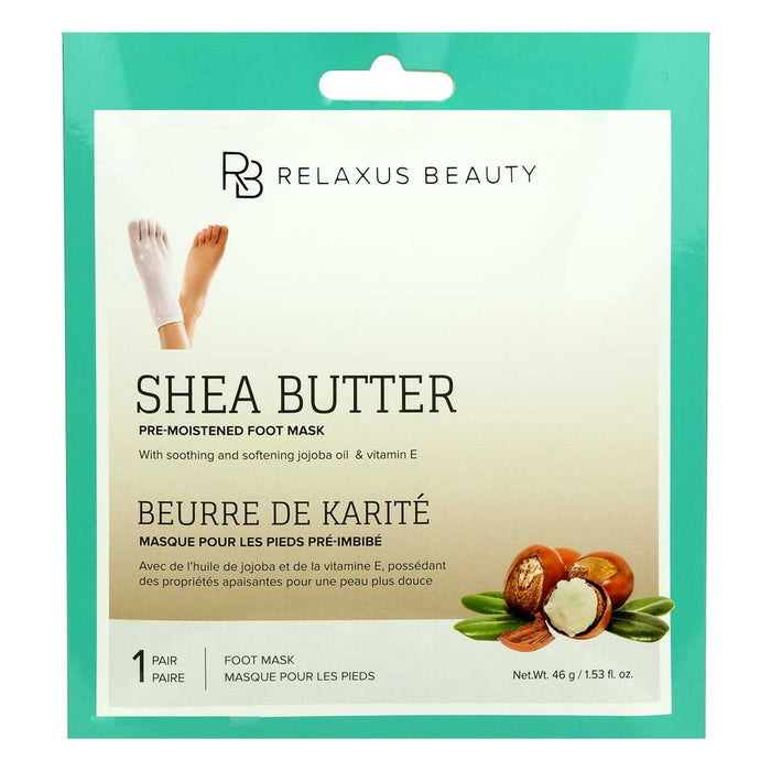 Shea Butter Foot Mask Displayer of 12