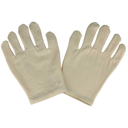 Natural Unbleached Moisturizing Gloves Spa Relaxus