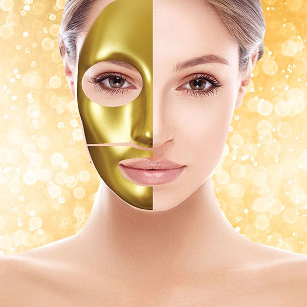 Gold Collagen Hydrogel Facial Mask Spa Relaxus
