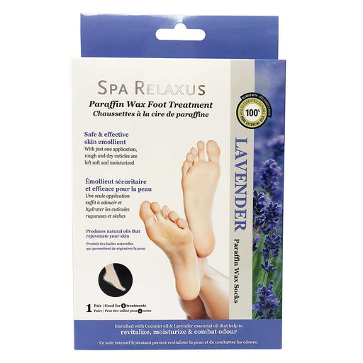 Paraffin Wax Foot Treatment Spa Relaxus