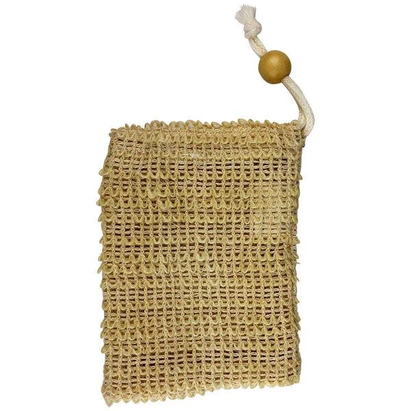 Jute Soap Sack Exfoliating Washcloth Spa Relaxus