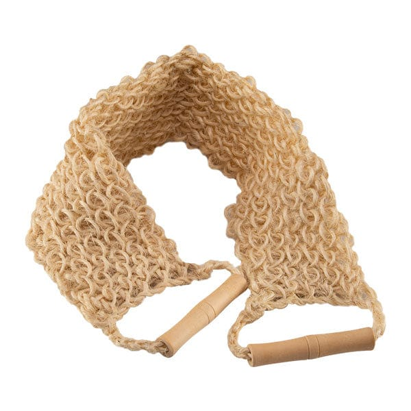 Spa Relaxus Bamboo & Sisal Back Wash Strap