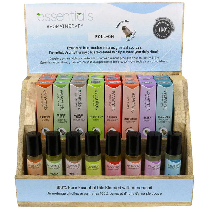 100% Pure Essential Oil 10 ml Roll-Ons
