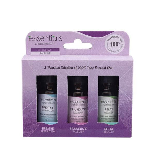 Essential Oils Gift Set (3 x 10 ml) Displayer of 6