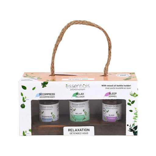 Gift Set Essential Oils 3pc Relaxation