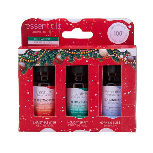 Wholesale Holiday Essential Oils Gift Set (3 x 10 ml)