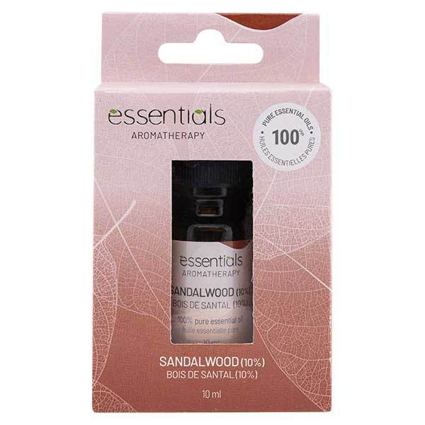 Essentials Aromatherapy Sandalwood 10% 10ml Essential Oil