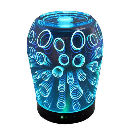Aromadelic Essential Oil Diffuser Light Blue