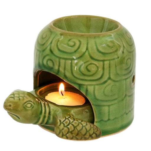 Turtle Candle Tealight Holder & Oil Burner