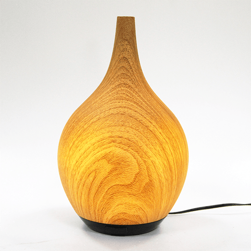 Eco Luxe Ultrasonic Aroma Diffuser light on