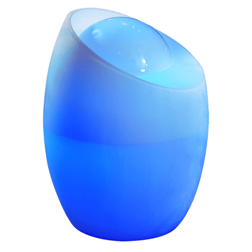 Ambience Mist Lamp Ultrasonic Diffuser blue light