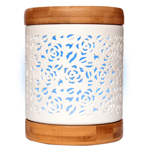 Aroma Allure Essential Oil Diffuser blue light