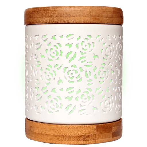 Aroma Allure Essential Oil Diffuser green light