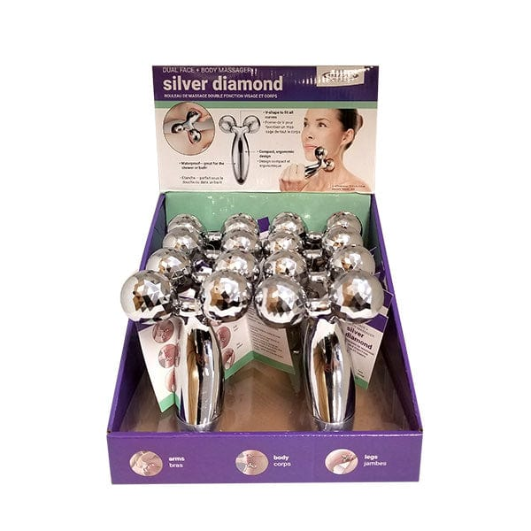 Silver Diamond 3D Handheld Body Massager