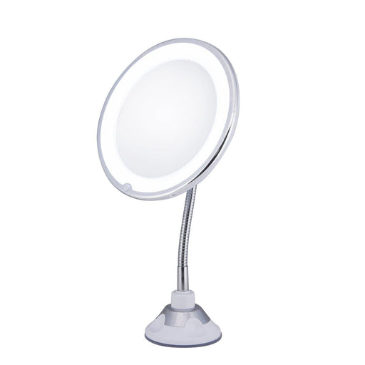 10x Magnifying Makeup Mirror with LED light